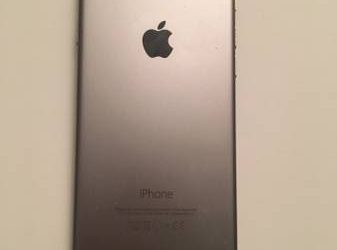 iPhone 6 AT&T or Cricket 16GB Silver – $120