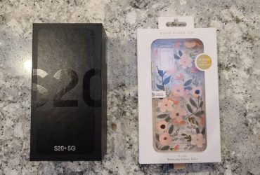 Galaxy S20+ (T-Mobile) Brand New/Unopened AND New Case-Mate Case. – $900