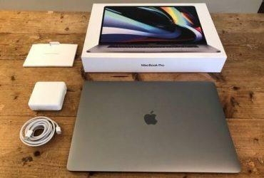 "MacBook Pro 16"" 2.60ghz TouchBar 16gb ram SSD – – – – $500"