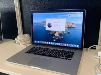 MacBook Pro Retina 15in 2013 on sale – $750