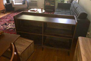 horizontal bookcase (bushwick)