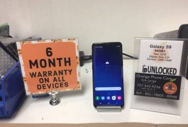 Galaxy S9 64gb Factory Unlocked *6 Month Warranty* – $299 (St Petersburg)