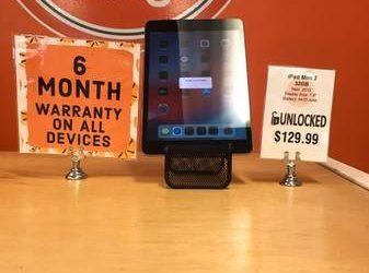 Unlocked iPad Mini 2 32GB With Warranty – $129