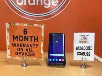 Unlocked Galaxy S9 Plus 64GB With Warranty – $349