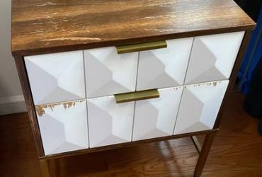 Free Midcentury Modern Nightstand PICKUP ASAP (New York)
