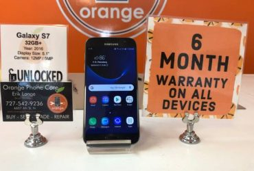 Galaxy S7 32gb Factory Unlocked *6 Month Warranty* – $149 (St Petersburg)