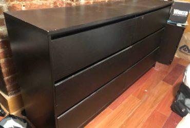 FREE Dresser! Black, 6 Drawers (Harlem / Morningside)
