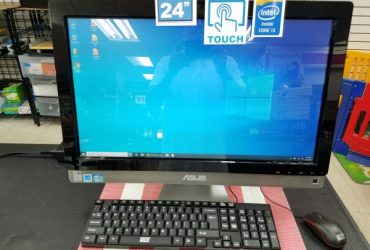 "TOUCHSCREEN 24"" Asus All-in-one i3 4GB 500GB Hard Drive – $289 (Hialeah)"