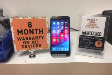 iPhone 7+ 32gb Factory Unlocked *6 Month Warranty* – $279 (St Petersburg)