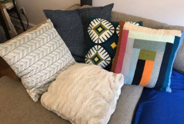 Pillows – multiple sizes, 10 pillows total (Upper West Side)
