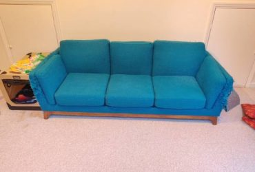Cat Loved Article Couch and Loveseat (Glenridge)