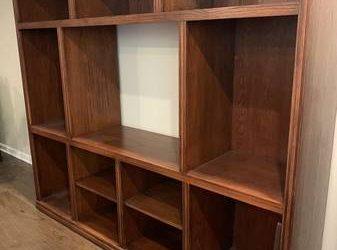 Entertainment center – solid wood (Montrose)