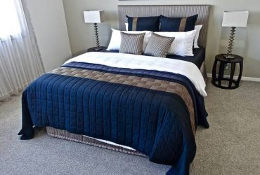 $365 Luxurious bed ready for rent – close to shopping!