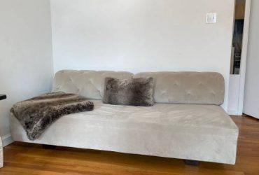 FREE West Elm Tillary Sofa (Gray) – Like New! (West Village New York)