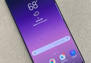 Samsung S8 Unlocked Fully Functional w/ Crack – $175 (Tampa)