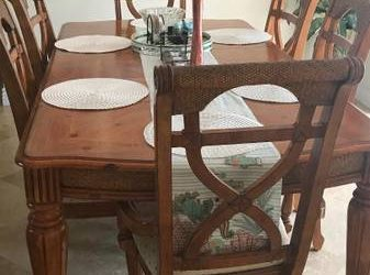 FREE Dining Table and China Cabinet (Fort Lauderdale)