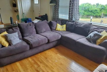 Brown sectional (Northport) NY