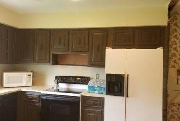 Free Kitchen Cabinet and 30 inch interior wood doors (Boynton Beach)