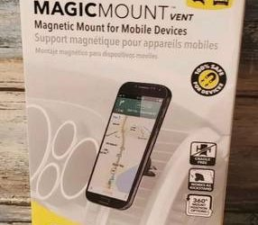 Scosche MAGVM2, MagicMount Magnetic Vent Mount For Mobile Devices – $12 (Pembroke Pines
