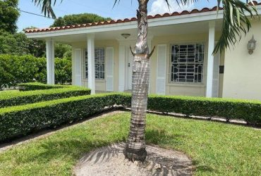 $3500 / 3br – Corner Coral Gables home, property feautures 3 bedrooms (800 Benevento Ave)