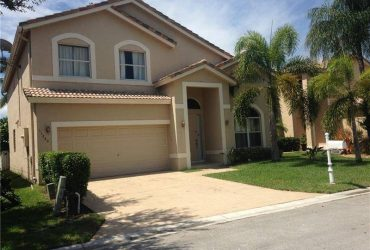 $3500 / 5br – 5 BEDROOM 3 AND HALF BATHS HOME IN CORAL SPRINGS (11240 NW 52nd St)
