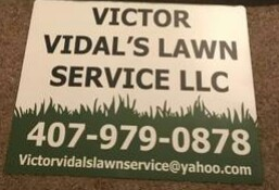Lawn care worker