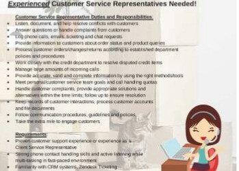 Experienced Customer Service Representatives Needed (West Palm Beach)