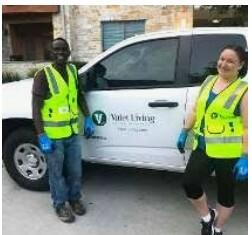 Empleando para trabajo de medio tiempo de noche- $14/hr con Camioneta (Miami, FL)