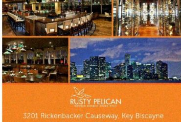 Servers, Bartenders and Hosts – Rusty Pelican Miami – Now Hiring (Key Biscayne)