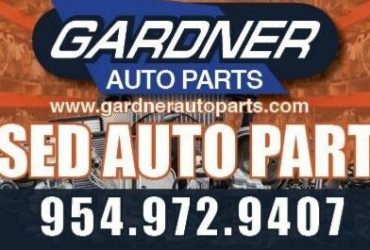 Junkyard – Need Parts Puller/Delivery Driver (Pompano Beach)