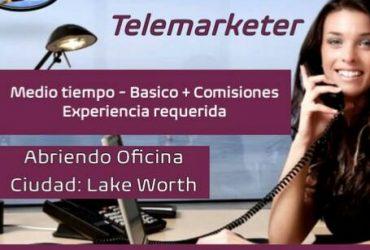 Servicio al Cliente y Telemarketing (Español) (Lake Worth)