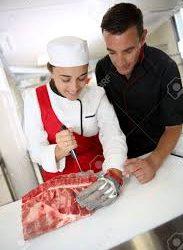 Professional butcher (Brooklyn)