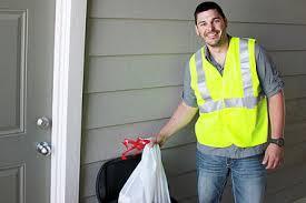 Part time evening doorstep trash collection (Marietta)