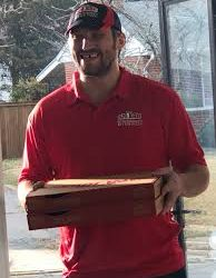 papa johns delivery driver/pizza maker