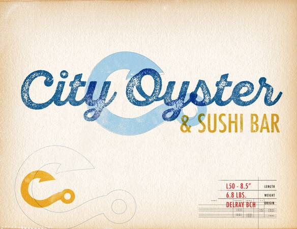 LINE COOKS NEEDED! CITY OYSTER & SUSHI BAR