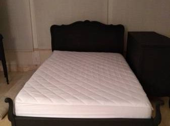 Free Full Bed, Dresser & Foam Mattress (Trinity)