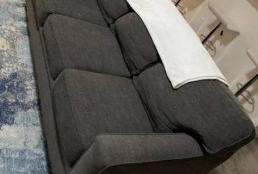 Free Grey sofa (Palm beach gardens)