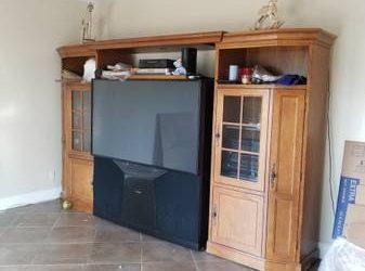 Big Screen TV/Console