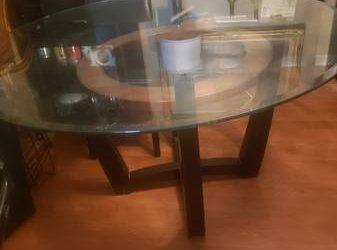 """52"""" round Dining table (TARPON SPRINGS)"""