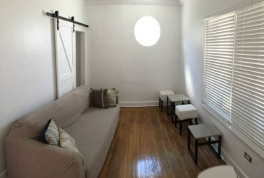 Two Couches, Chairs, and Stools from Apartment (Miami Beach)