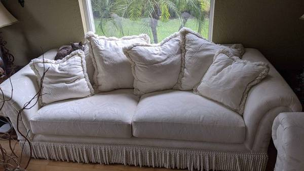 Free 2 off white couches (Wekiva Springs)