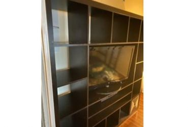 Leather couch, , , tv, coffee table (North Miami Beach)