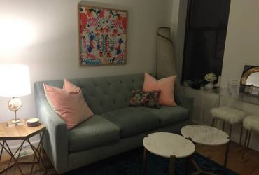 Moving Sale – Free Modern Couch! (Upper East Side – NY)