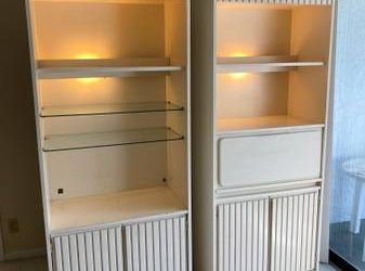 2 Bookcase cabinets free (West Palm Beach)