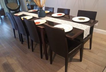 8 chairs for dining table (Boca Raton)