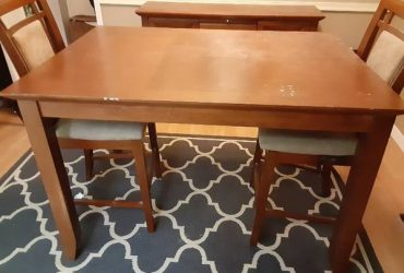 Free Dining Room Table, 2 Chairs and Buffet (Fort Lauderdale)