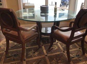 Table and 4 chairs (Boca Raton)