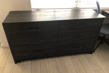 Six-drawer cabinet (scratched side) (South Beach)