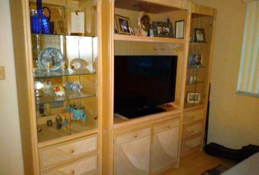 Quality Wall Unit/Entertainment Ctr (Lake Worth)