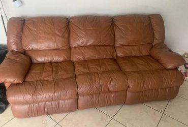 Free leather sofa (Miami)